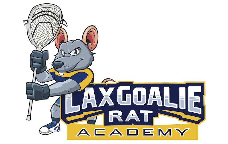 Lax Goalie Rat Academy Logo