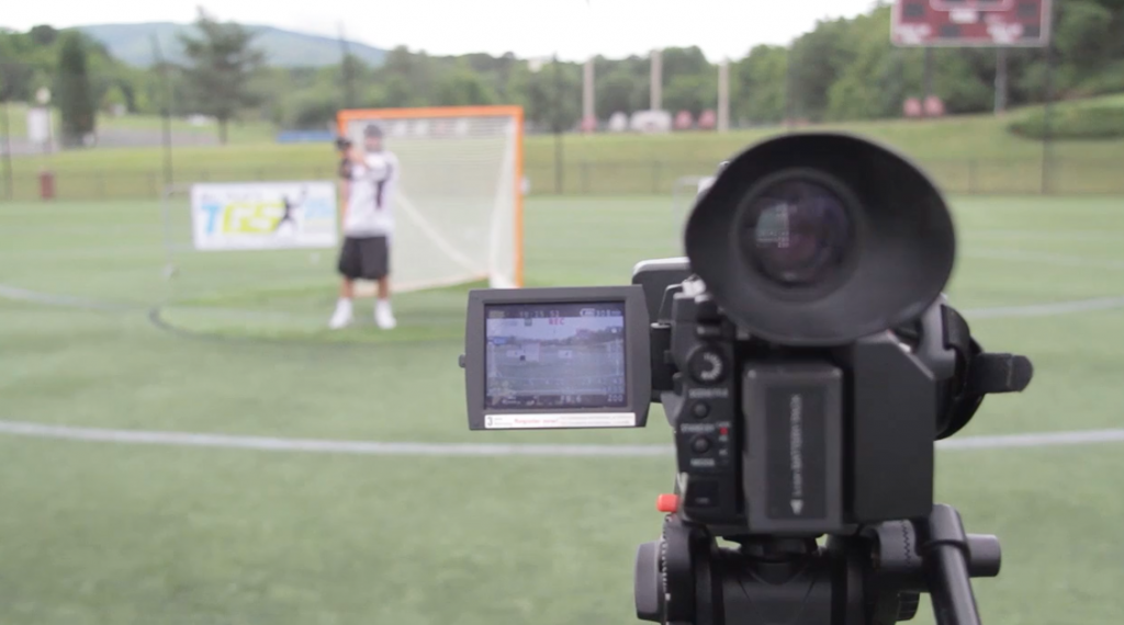 Advanced Goalie Drills Filming