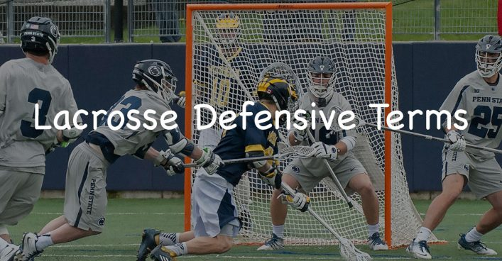 Lacrosse Defensive Terms