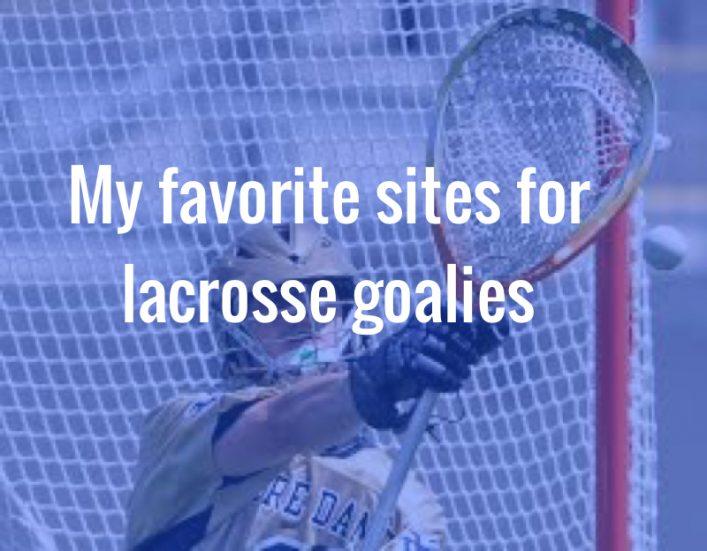 Awesome lacrosse goalie stick