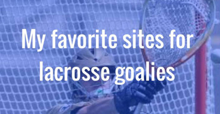 FavoriteSitesForGoalies