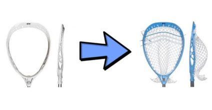 How To String A Lacrosse Goalie Head: An Illustrated Guide