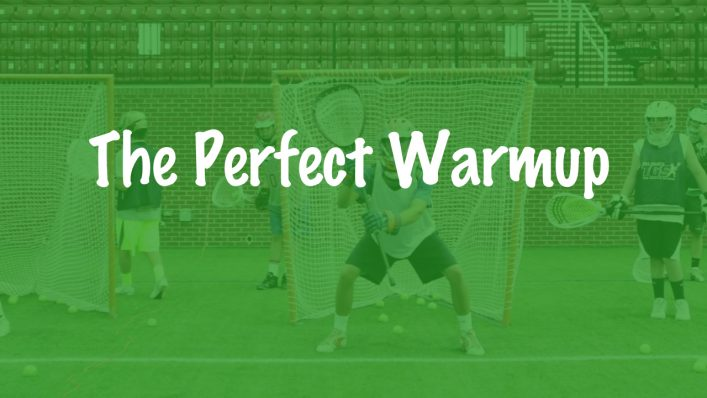 Lacrosse Goalie Warmup