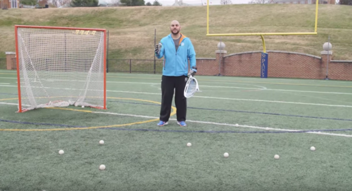 Lacrosse Goalie Drills - 3 Stations