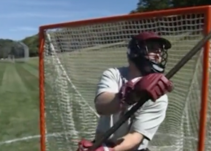 Lacrosse Goalie Drills Heavy Bar