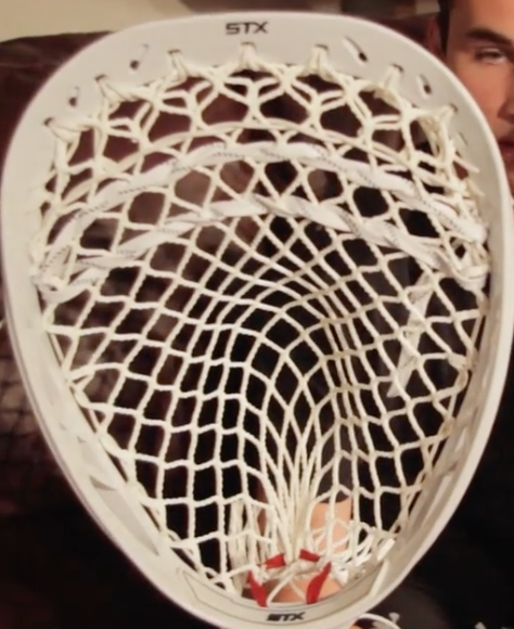 How to string lacrosse goalie head