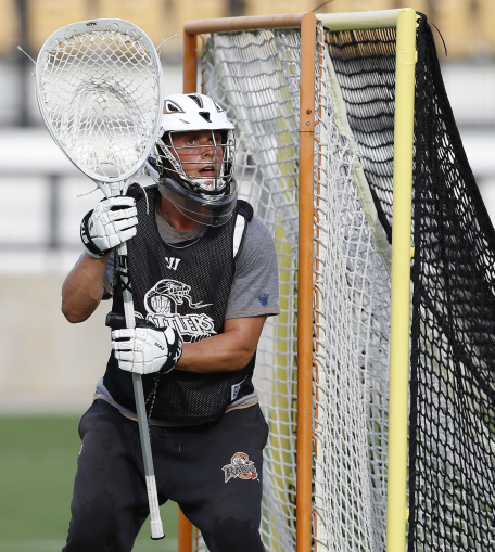 Lacrosse Goalie John Galloway