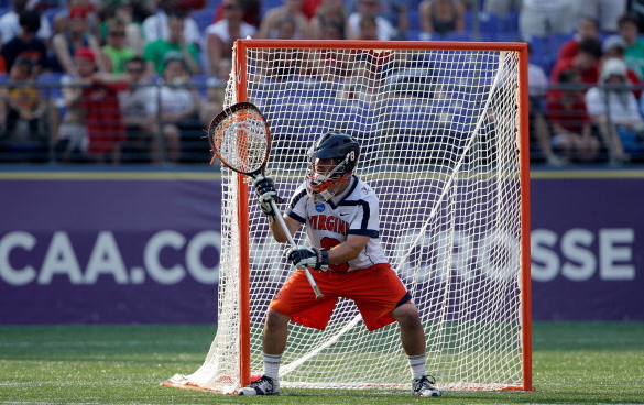 Ghitelman Perfect Lacrosse Goalie Stance