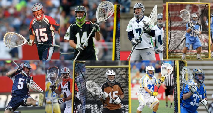 MLL Pro Goalies and Their Sticks