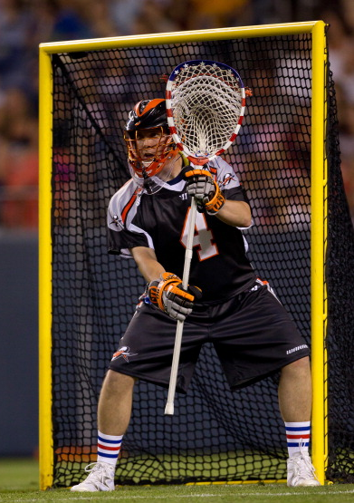 Perfect Lacrosse Goalie Stance 3