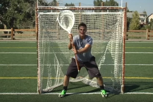 Perfect Lacrosse Goalie Stance