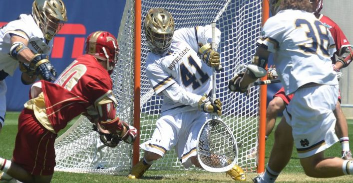 Q&A With Notre Dame Lacrosse Goalie Shane Doss