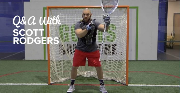 Q&A with MLL Goalie Scott Rodgers