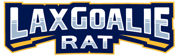 Lax Goalie Rat Logo Text