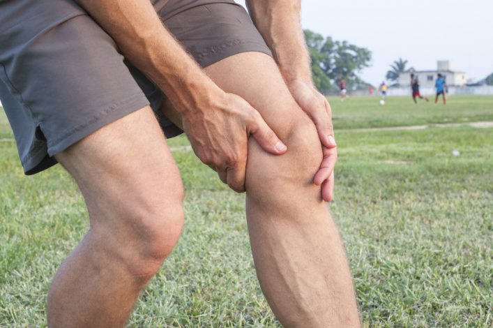 Lacrosse Knee injury
