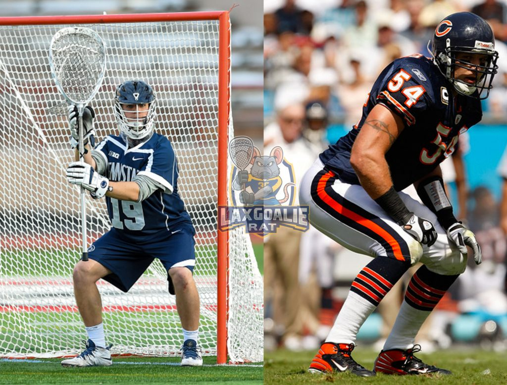 Lacrosse Goalie and NFL Linebacker