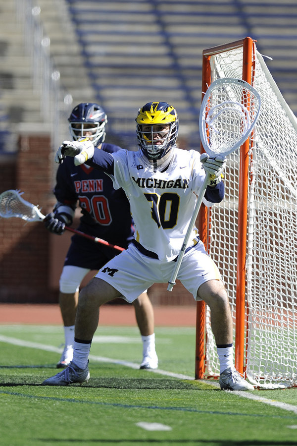 Michigan Lacrosse Goalie
