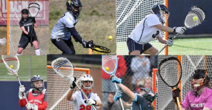 FEMALE Goalie Stick Setups for the Top 20 NCAA Teams