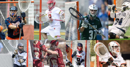 2017 Goalie Stick Setups of the NCAA's Top 20 Ranked Teams