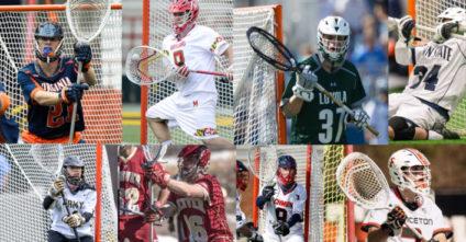 2017 Goalie Stick Setups of the NCAA's Top 20 Ranked Teams