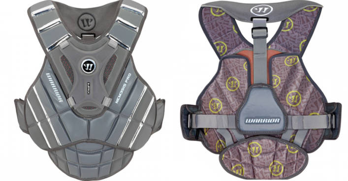 Warrior Nemesis Pro Goalie Chest Pad Review