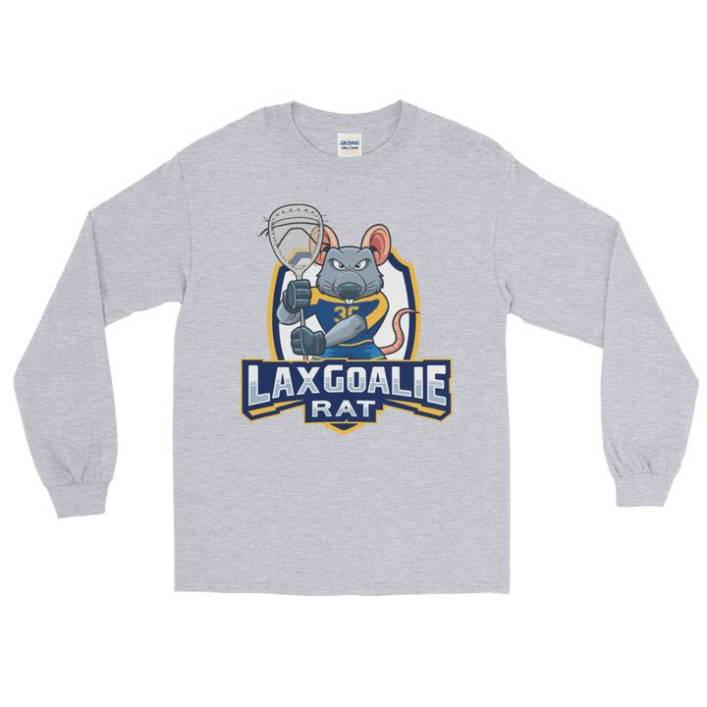 Lax Goalie Rat Long Sleeve Shirt