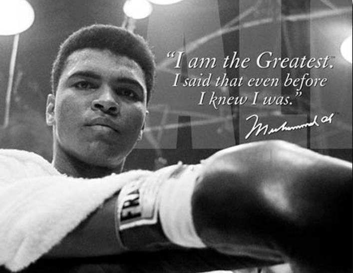 Muhammed Ali confidence affirmation